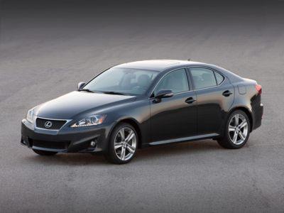 2011 Lexus IS250 Incentives