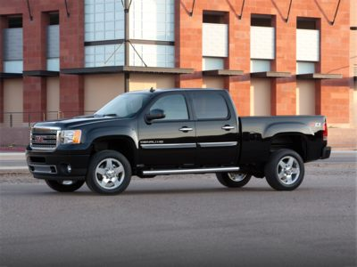 2011 GMC Sierra 2500HD Incentives