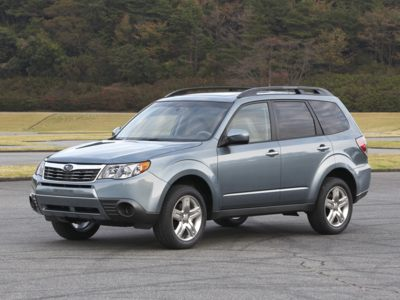 2011 Subaru Forester Incentives